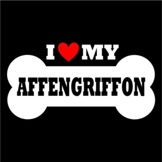Affengriffon Sticker for Indoor and Outdoor Use; Affengriffon Decal