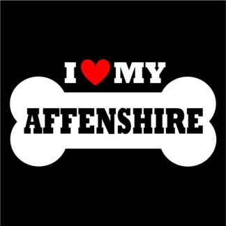 Affenshire Sticker for Indoor and Outdoor Use; Affenshire Decal
